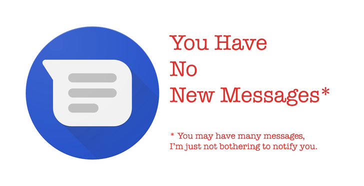 Android Messages has broken new SMS notifications for many people since its latest update