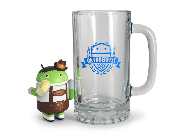 Limited edition Oktoberfest Android mini (and optional mug) goes on sale tomorrow (September 27)