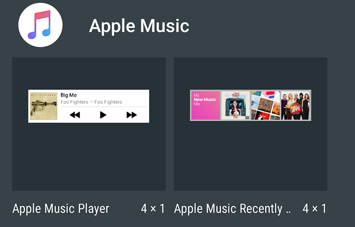 Apple Music 2.2 adds user profiles and integrates better with Android: OK Google voice search, app shortcuts, one more widget