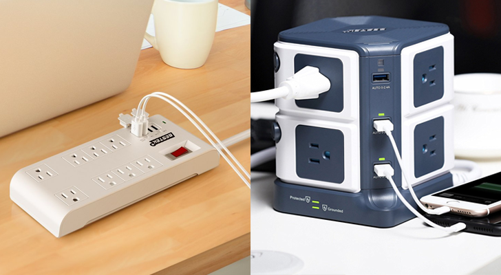 [Update: Winners] Giveaway: Win one of 20 BESTEK Surge Protectors with USB ports [US]