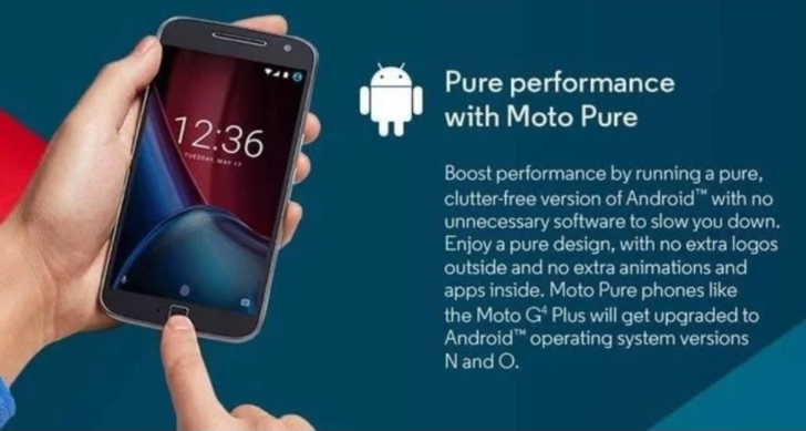 Motorola honors Android 8 0 Oreo update promise for Moto G4 Plus