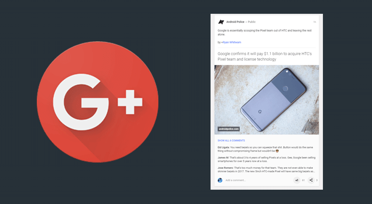 Google+ posts on desktop get more conversational with new UI tweak