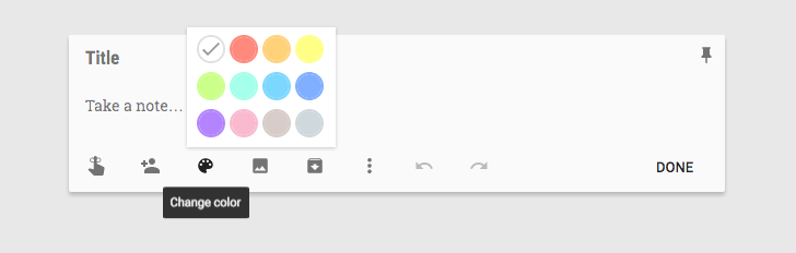Google Keep adds 4 new note colors [APK Download]