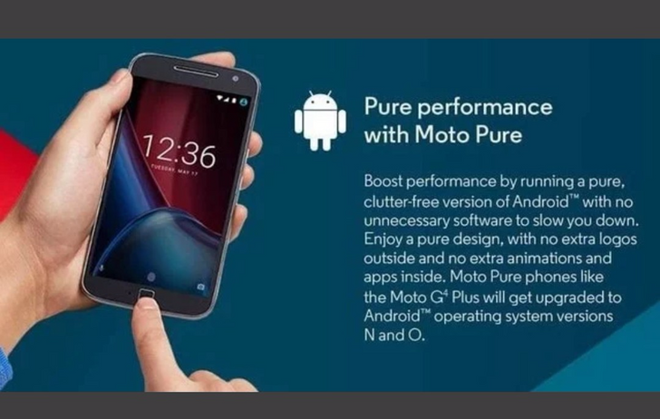 Motorola isn't updating the Moto G4 line to Android Oreo as it said it would, and that's bullshit