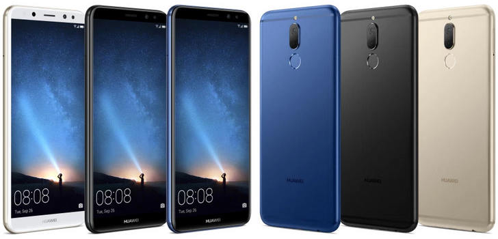 "Huawei Mate 10 Lite will sport four total cameras, a 5.9"" 18:9 1080p display, and Kirin 659"
