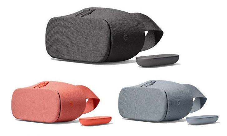 Google's new Daydream View will be covered in fabric and cost $99