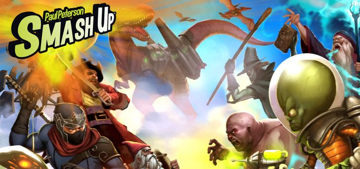 Asmodee Digital brings the award-winning pop culture mashup game 'Smash Up' to the Play Store