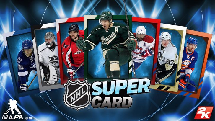 NHL SuperCard 2K18 is 2K's latest take on their SuperCard series of games