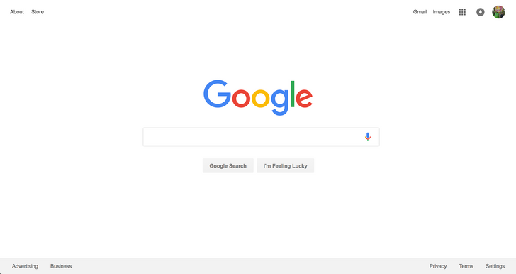 Google adds 'About' and 'Store' links to top left of homepage