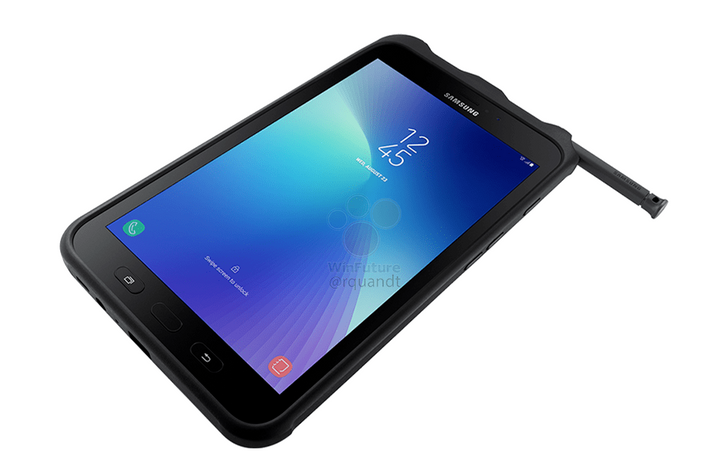 [Update: Available in the Netherlands] Galaxy Tab Active 2 leaks with 480-nit 800p LCD, IP68 certification, removable 4450mAh battery, and more