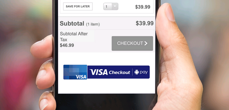 Visa Checkout integration in Android Pay is now live, one year after it was announced
