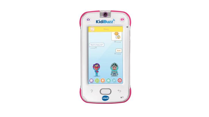 VTech's $100 KidiBuzz is a chunky Android-powered 'phone' for your kids, and it's available now