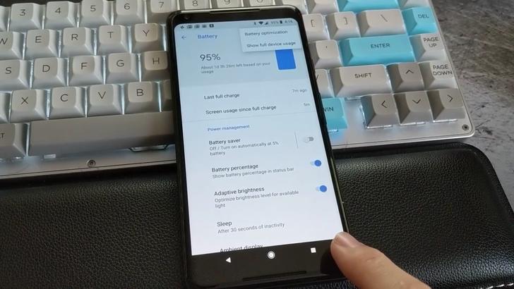 [Update: Confirmed as a bug] Surprise: The Pixel 2 has a hidden menu button on its navigation bar