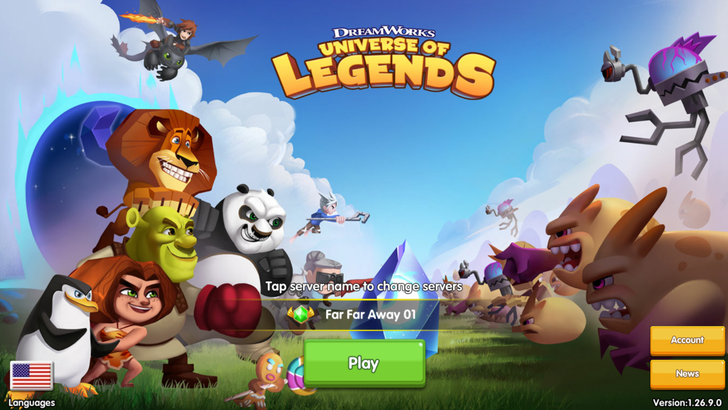 DreamWorks Universe of Legends is yet another lazy hero collection game