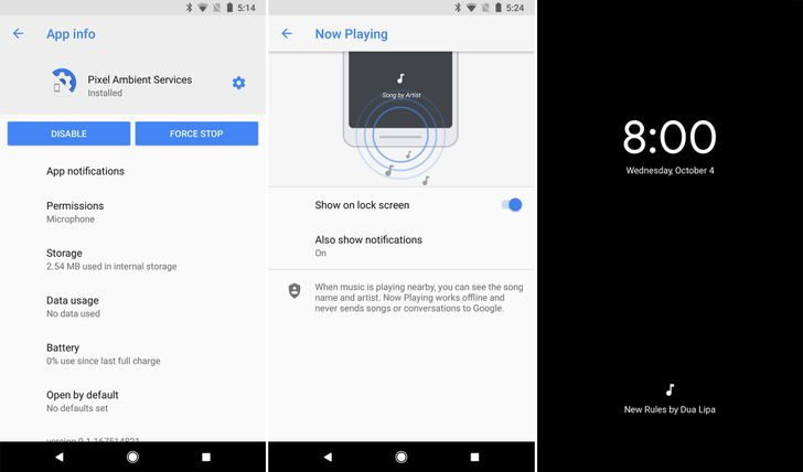 Pixel Ambient Services app pops up in the Play Store, confirms always-on music ID feature