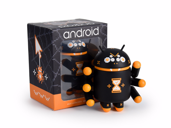 "[Update: Available now] Special Edition ""Webcrawler"" Android Mini figurine is the stuff of all nightmares"