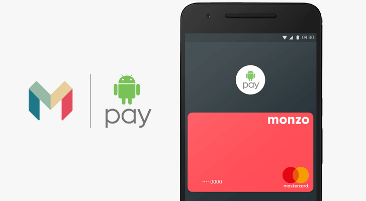 Android Pay adds Monzo in the UK, but only for current account holders