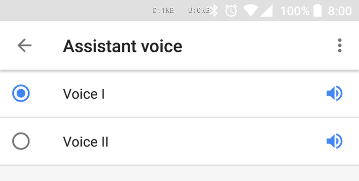 Google Assistant male voice (Voice II) is now live on phones and Google Home