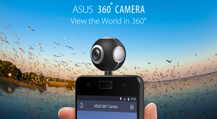 ASUS releases app for its new ball-shaped 360° Camera