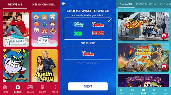 Disney merges its TV apps into 'DisneyNOW'