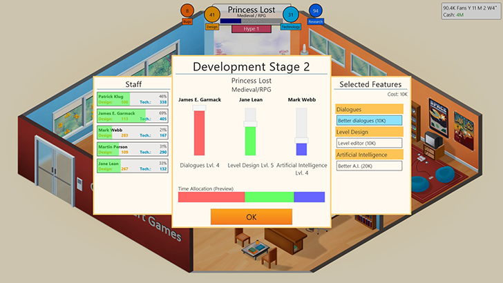 Game Dev Tycoon is coming to Android in January