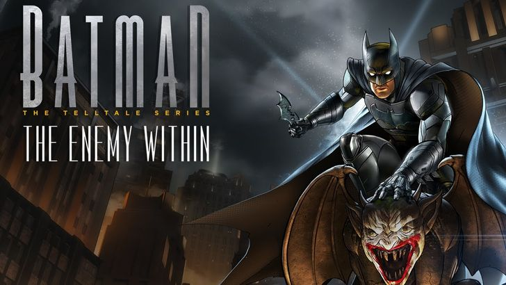 Telltale Games has released the first and second episode of 'Batman: The Enemy Within'