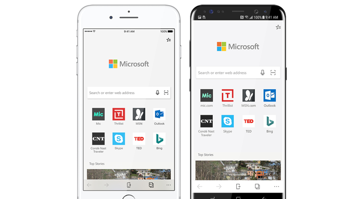 Microsoft Edge is coming to Android and iOS