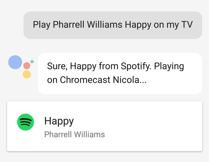 [Praise Slow Google] It's now possible to control Chromecast music and TV playback from your phone's Assistant, not just Google Home