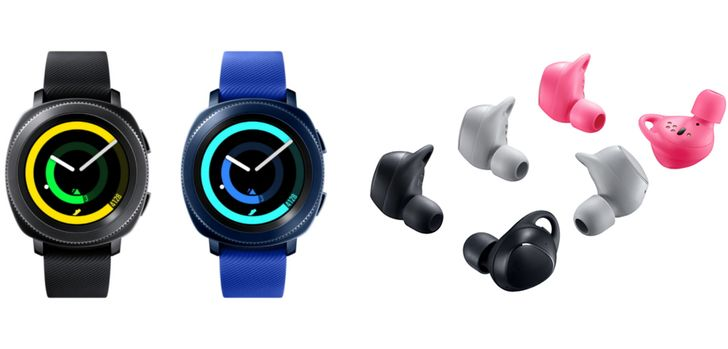 Samsung Gear Sport smartwatch and Gear IconX earbuds launch October 27 with pre-orders October 13