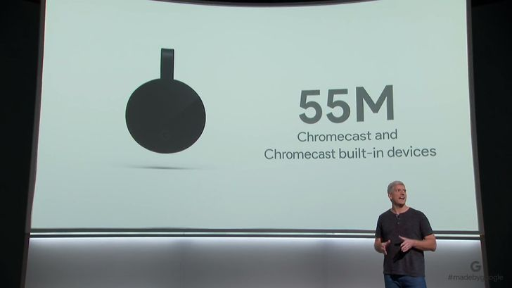 Google has sold over 55 million Chromecasts and cast devices