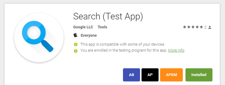 [Update: Also live outside the US for some] Google Search Lite app appears to be available in the US for some
