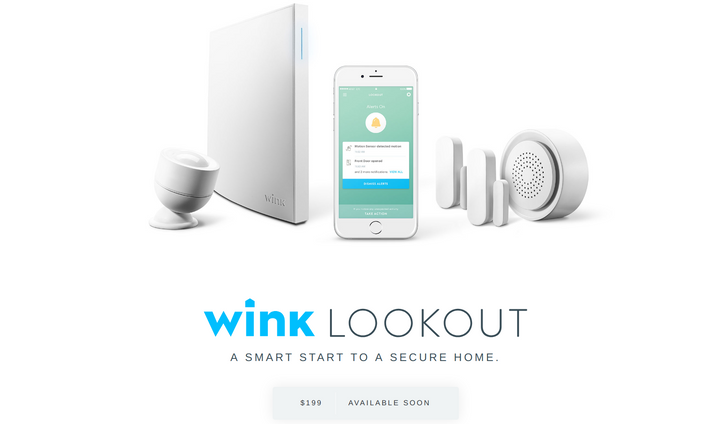 Wink announces Lookout, a $199 home security system without monthly fees