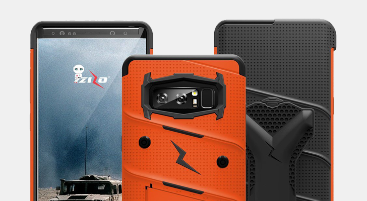 [Update: Winners] Giveaway: Enter to win one of 30 ultra-protective BOLT cases from Zizo for the Samsung Galaxy Note8 [US]