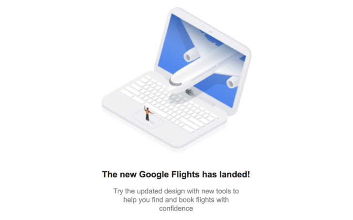 Google Flights on desktop has been updated to match the mobile redesign