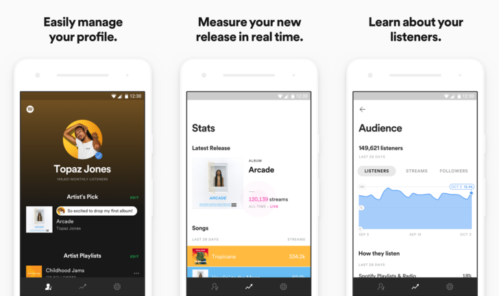 Spotify for Artists app is now available on Android [APK Download]