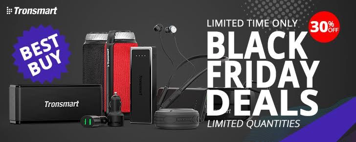 Here are all of Tronsmart's best deals on power banks and Bluetooth speakers for Black Friday in the US, UK, Canada, and Europe [Sponsored Post]