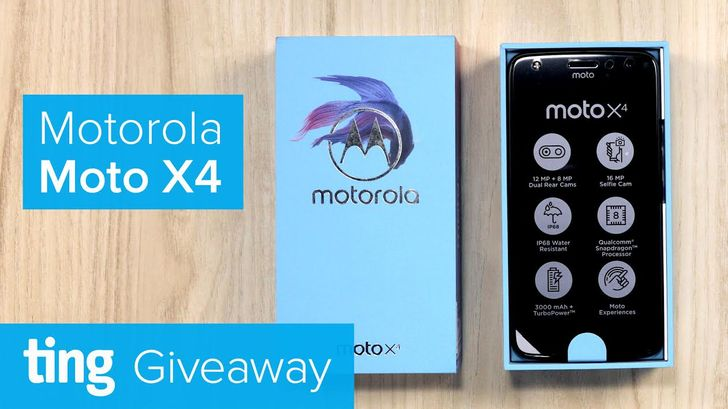 [Update: Winners] Win one of three unlocked Moto X4s from Ting and Android Police [US]