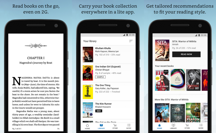 2MB Amazon Kindle Lite beta lets you read your eBooks over slow networks, but it's likely India-only