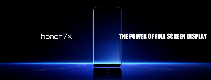 "Huawei unveils the Honor 7X with a Kirin 659 SoC and a 5.93"" FullView display"