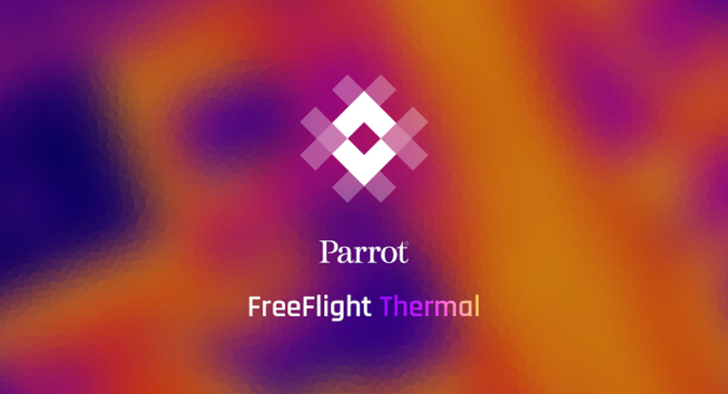 Parrot releases Android app for Bebop-Pro Thermal drone