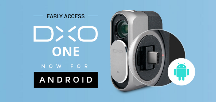 DxO ONE with USB-C port for Android is now available for $499 in 'Early Access pack'