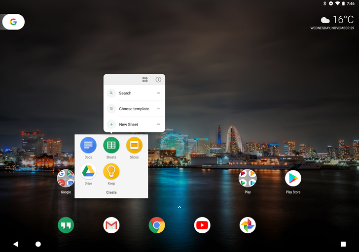 Android 8.1 Developer Preview 2 brings Pixel C launcher to parity with Pixel phones [APK Download]