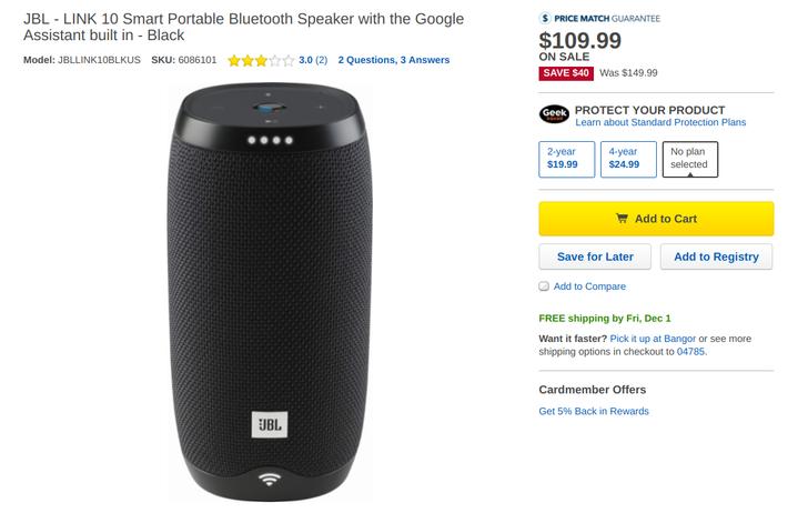 [Deal Alert] Get up to $150 off JBL gear, including $40-50 off new Link Assistant speakers
