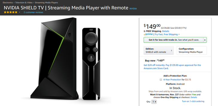 [Deal Alert] Grab the NVIDIA SHIELD TV for $30 off in different bundles, starting at $149