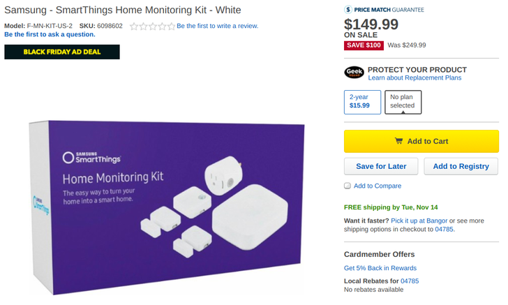 [Deal Alert] Samsung SmartThings Hub, Kit, and accessories are up to 50% off