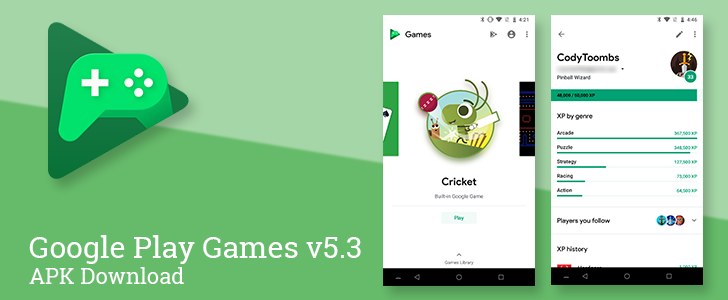 Play Games v5 3 comes with a whole new look and three new