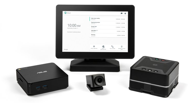 Google made a Chromebox for Hangouts video conferences