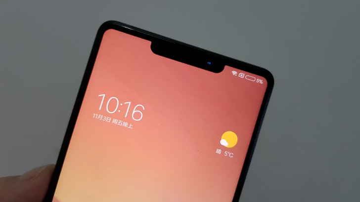 [Update: Probably fake] Alleged pictures of 'Xiaomi Mi Mix 2s' show iPhone X-like notch