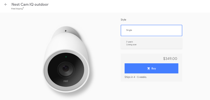 Google adds Nest Thermostat E, Secure Alarm System, Connect
