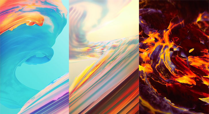 Here are all the new wallpapers from the OnePlus 5T